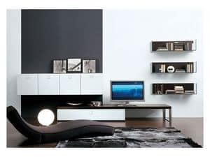 SEVENTY DAY comp.01, Modulare Aufbewahrungseinheit für Wohnzimmer
