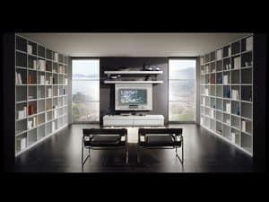 Tag Bibliothek 10, Modulare Systeme für Wohnräume, Größe anpassbar
