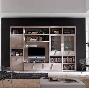Tea comp. M, Modulare Möbel für das Wohnzimmer