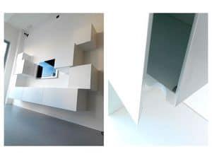 Trealcubo comp.01, Modulares System für Möbel