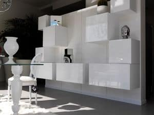 Trealcubo comp.02, Modulares System für Möbel