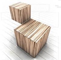Trealcubo comp.05, Modulares System für Möbel