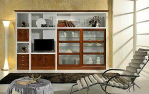 Zaffiro, Anpassbare Wohnzimmermöbel