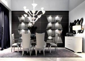 Zenit system, Modulares System von ausgestatteten Wänden