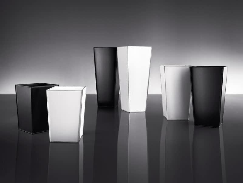 ART. 900 901 902 SPICE COLLECTION, Glas in Metall und Leder, in verschiedenen Farben