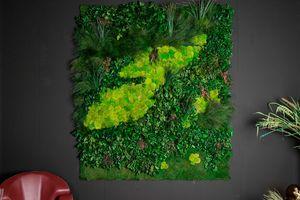 Cansiglio, Dekorplatte in echten Pflanzen