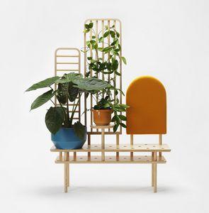 Etta screen, Multifunktionales Möbelstück aus Holz
