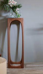 FIDA Stand / Vasenhalter, Sockel aus Massivholz und Marmor