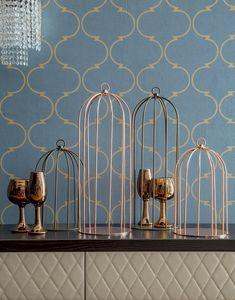 GRID, Dekorativer Metallkäfig