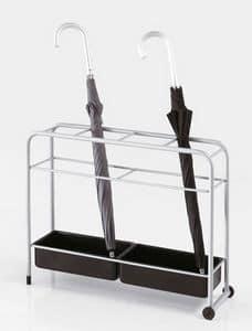 Pioggia, Schirmständer aus lackiertem Stahlräder