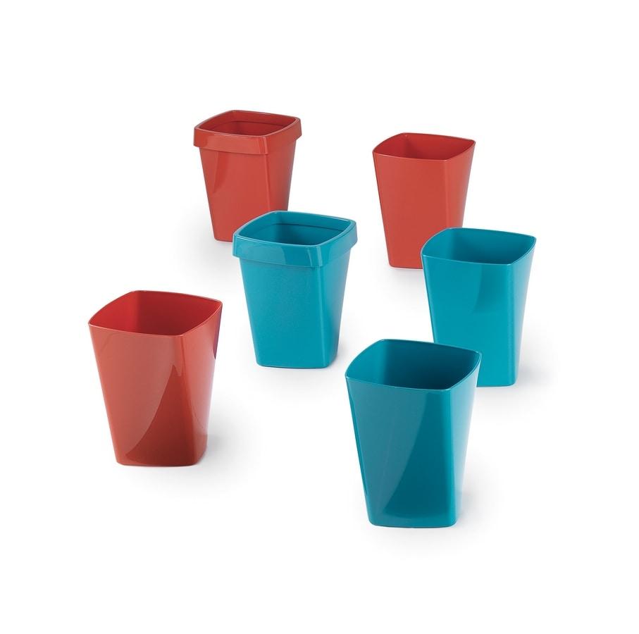 Swing cestini, Papierkorb in Polymer, für das Büro
