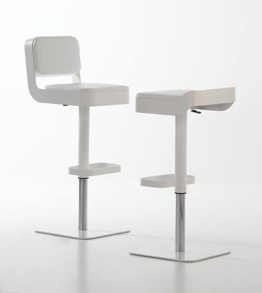 Belt plus, Drehhocker, komfortabel gepolsterte Sitzfläche, höhenverstellbar