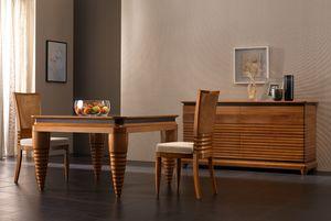 Elettra Art. EL008, Tisch mit konischen Beinen