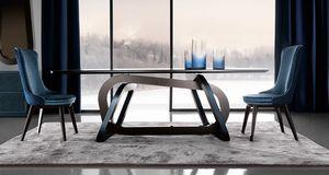 Loop Art. 302-RV1S, Tisch mit einer eleganten Basis