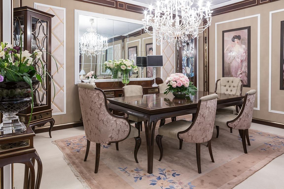 Holztisch Fur Elegante Esszimmer Idfdesign