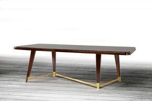 W06DT, Eleganter Holztisch für Esszimmer