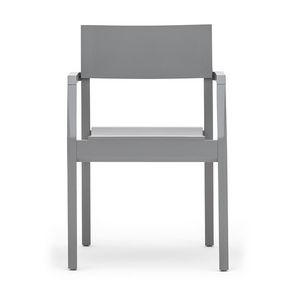 Maki 03721, Stapelbarer Sessel mit Armlehnen