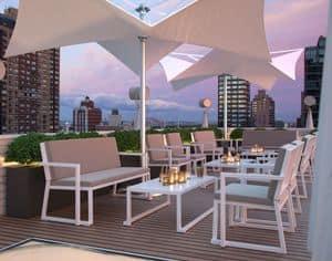 Bell, Outdoor -Set ideal für Bars und Restaurants