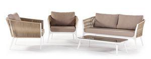 Merida, Gartenset mit Sesseln und Sofa