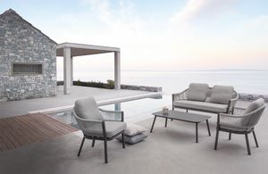 Messico Set, Outdoor-Set mit Sesseln und Sofa