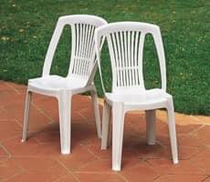 Stella, Kunststoff-Stuhl für den Außeneinsatz