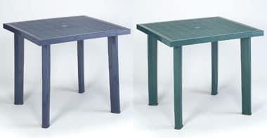 Fiocco, Quadratischen Tisch aus Harz, Einsatz im Freien