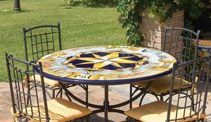 Rosa dei Venti antica, Gartentisch oder für klassische Umgebungen