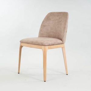 BS462S - Stuhl, Holzstuhl mit zeitgemäßem Design