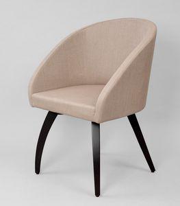 BS602A - Stuhl, Stuhl mit technischem Leinenbezug
