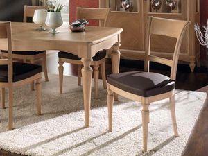 Chanel Stuhl, Esszimmerstuhl aus Holz