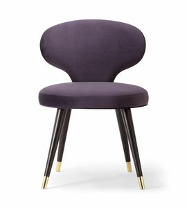 ELLE SIDE CHAIR 064 S, Stuhl mit einer bestimmten Rückenlehne