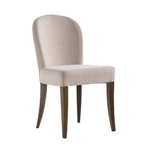 ISLANDA S, Stuhl mit abgerundeter Rückenlehne