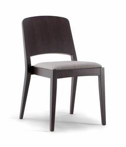 KYOTO SIDE CHAIR 047 S, Stuhl mit anmutiger Dynamik
