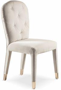 Liz, Gepolsterter Stuhl für Esszimmer