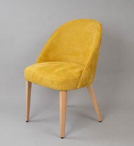 M33, Stuhl mit abgerundeter Rückenlehne
