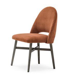 Niky 04711, Stuhl gekennzeichnet durch eine einhüllende Rückenlehne
