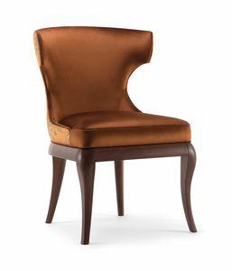 ROSE SIDE CHAIR 066 PO, Klassischer und eleganter Stuhl