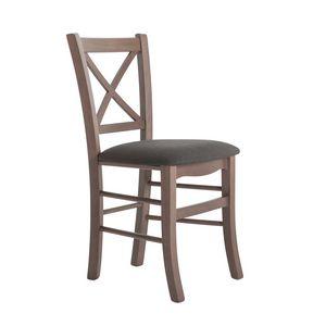 RP42Q, Stuhl mit Kreuzrückenlehne