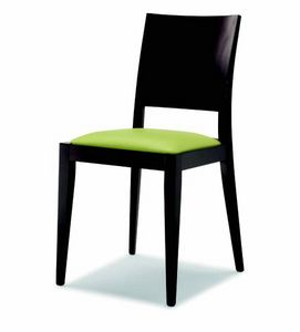 100 Masha, Stuhl mit gepolstertem Sitz