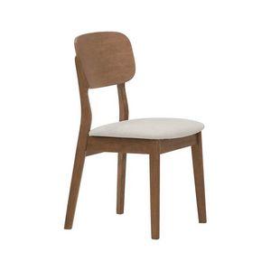 2961, Holzstuhl mit gepolstertem Sitz