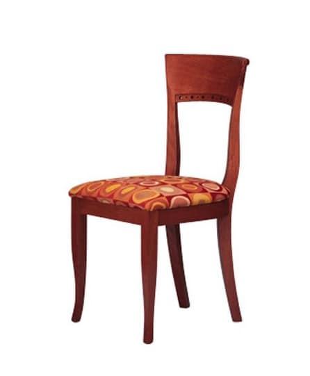 440, Einfach Buche Stuhl, Sitz gepolstert, für Hotel