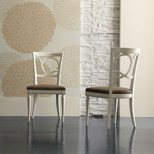 New Age Art. NA042, Stuhl mit zarten Linien
