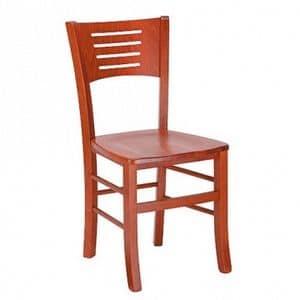Betty, Stuhl aus Holz, für Haushalt und Gewerbe