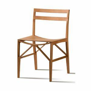 Celeste 5196/F, Stuhl aus massivem Eschenholz