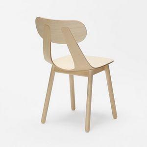 Rapa SW, Moderner Stuhl mit Massivholzbein