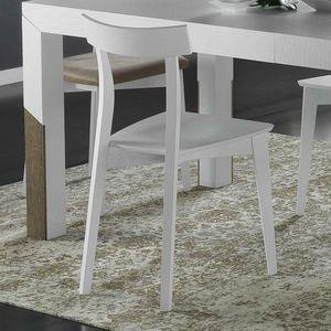 Spazio Contemporaneo SPAZE1071, Stuhl aus massivem Eschenholz