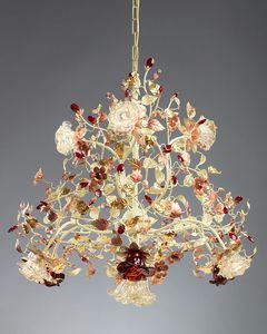 990110, Kronleuchter aus Muranoglas