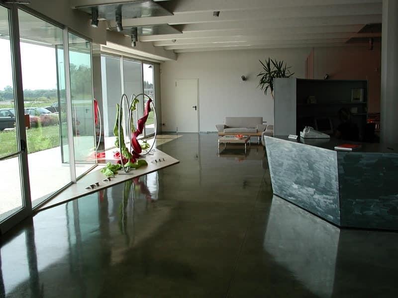 Autoleveling epoxy resin floors for stores, Kunstharzboden, für Luxus-Villen