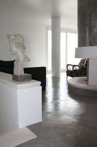 Rendered concrete resin floors, Kunstharzboden, für Büros