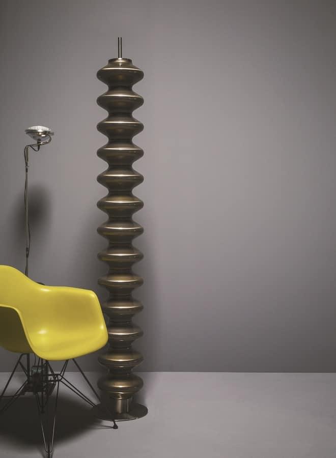 Milano, Sehr smart Heizkörper mit modernen Form, freistehend